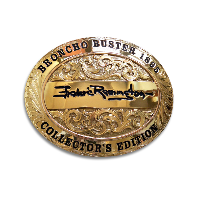 Frederic Remington® Collector's EditionBrass Belt Buckle